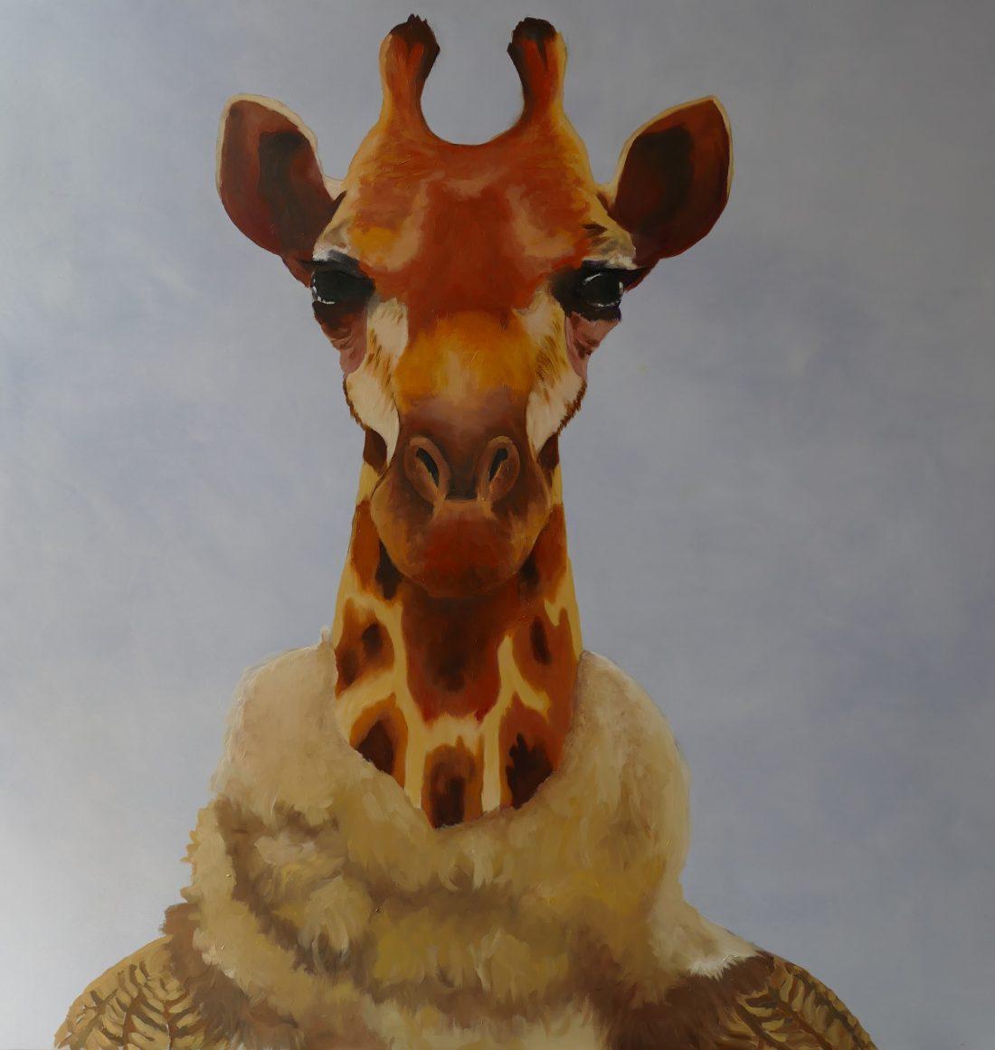 Paquita, la jirafa friolera